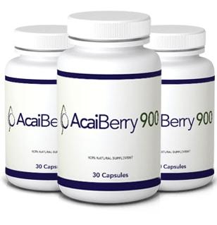 Pilulky na hubnutí Acai Berry 900