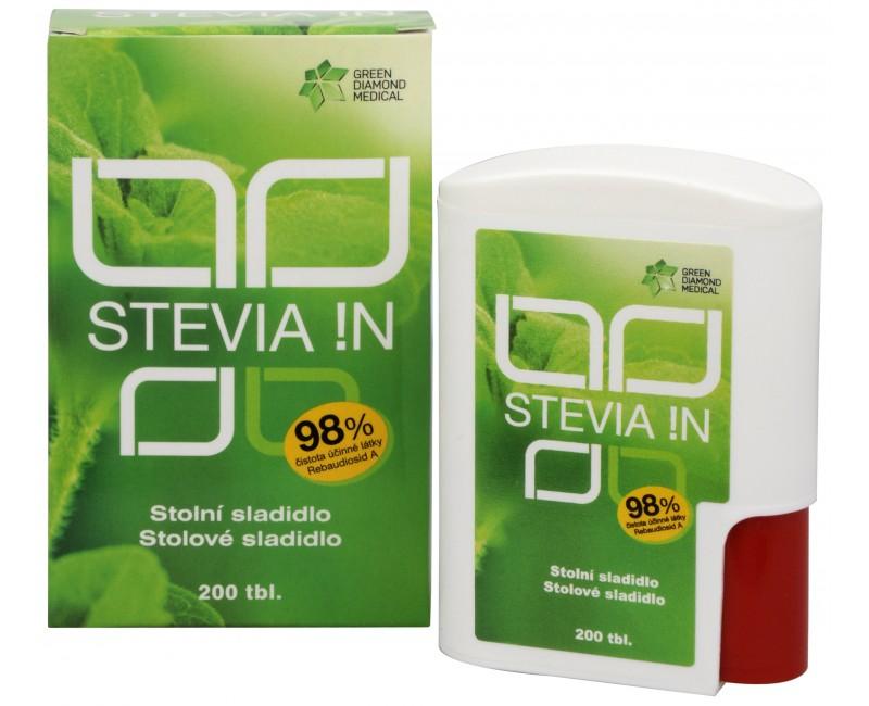 Přírodní sladidlo Stevia !N