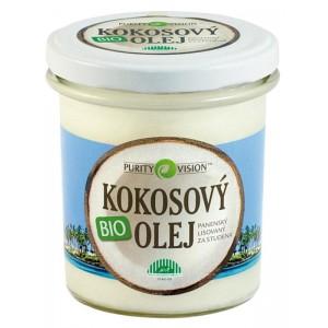 Kokosový olej Purity Vision na hubnutí i mazání