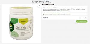 green trio recenze