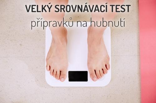 přípravky na hubnutí - srovnávací test